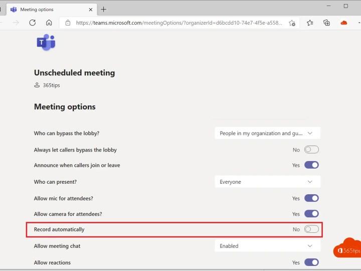 Retentie: Automatisch vergaderopnames verwijderen in Microsoft Teams