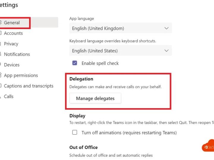 Hoe kan je een gemachtigde toevoegen in Microsoft Teams (delegate)