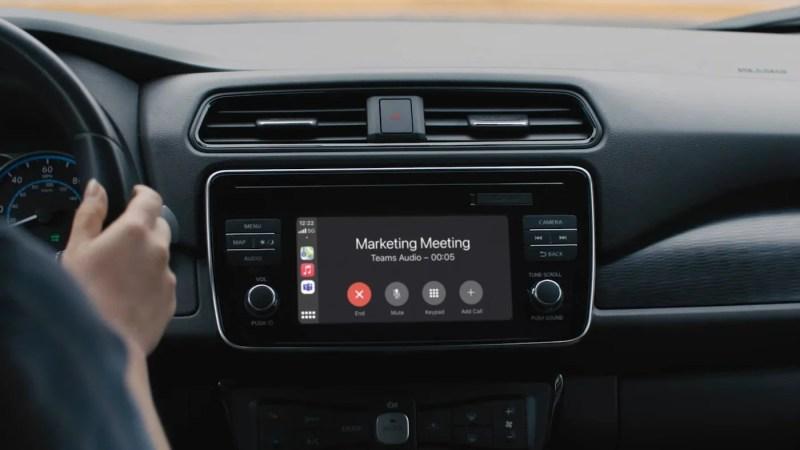 Microsoft brengt Teams voor Apple CarPlay uit 🎥 handleiding