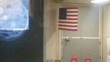 This flag went to the moon!