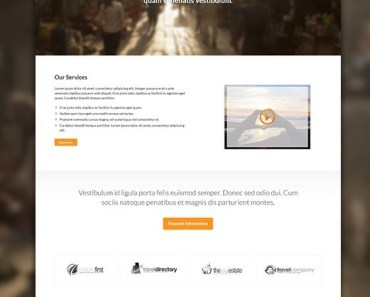Franck's Fashion Landing Page PSD Template