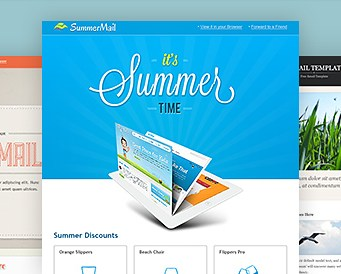 3 Great Designed Newsletter Templates PSD