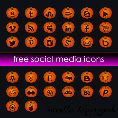 32 Free Pumpkin Social Media Icons