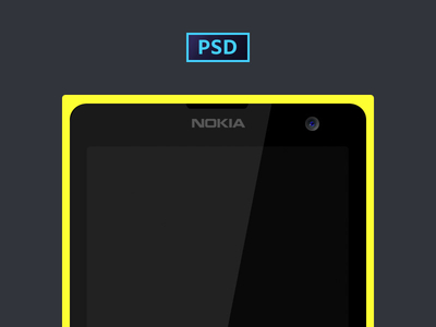 A SIMPLE LUMIA 1020 (PSD)