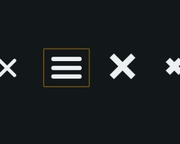 Animated Navigation Icons with CSS Transforms