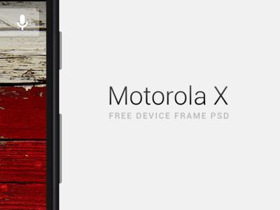 Moto X PSD