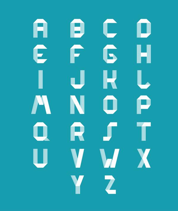 RIDGE Typeface