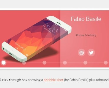 Stylish Image Slider with Pure CSS3 and HTML5
