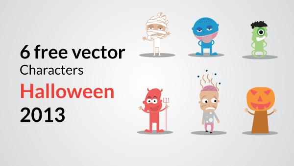 Vector Halloween Characters