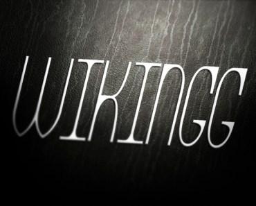 WIKINGG Font