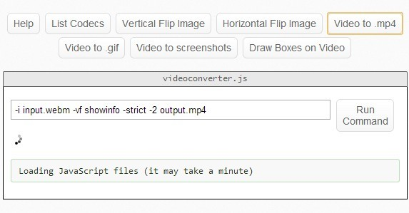 A Javascript Library For Converting Videos In Your Browser