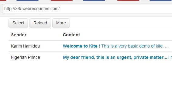 A Modern Webmail Based On Angularjs and Python 2 - Kite