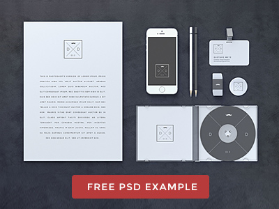Blank Stationery Branding Mock-Up