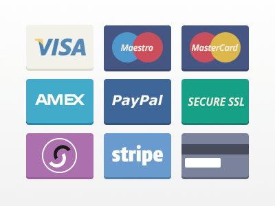 Flat Payment Cards
