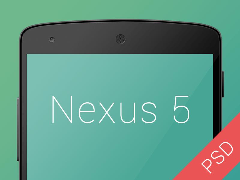 Free Nexus 5 PSD