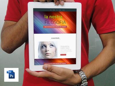 Free PSD iPad Mock-ups