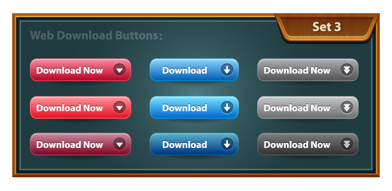 Free Vector - Download Buttons