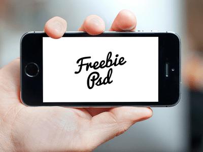 [Freebie] iPhone 5S Mockup