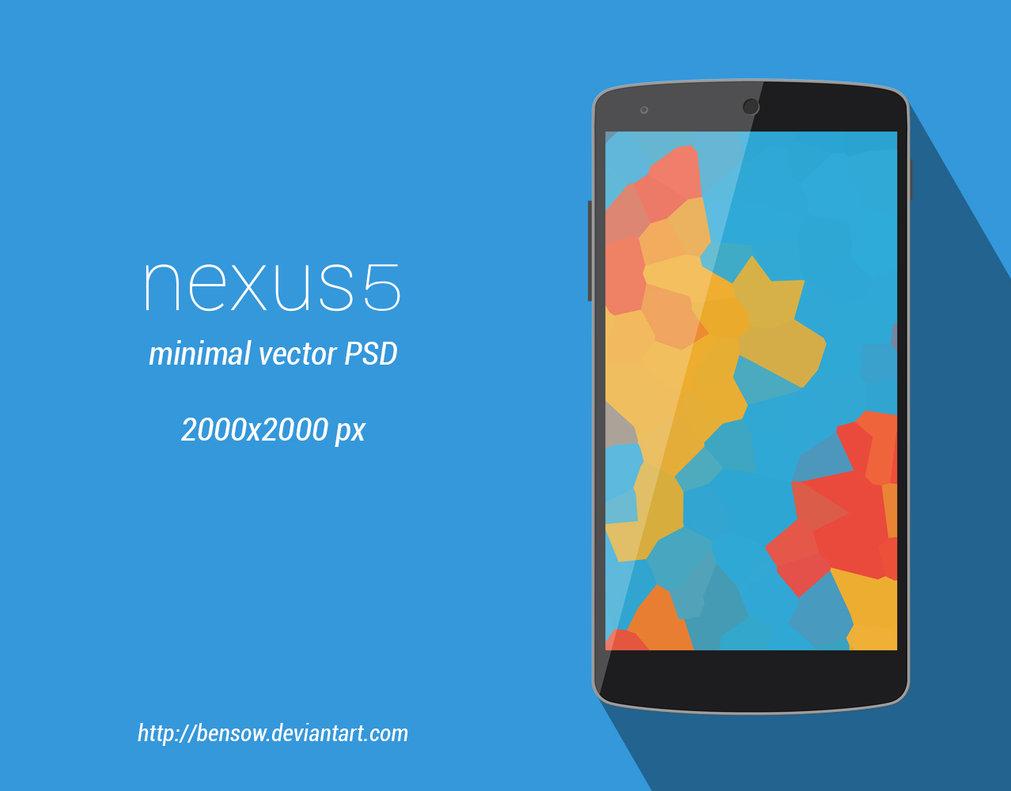 Nexus 5 Vector PSD