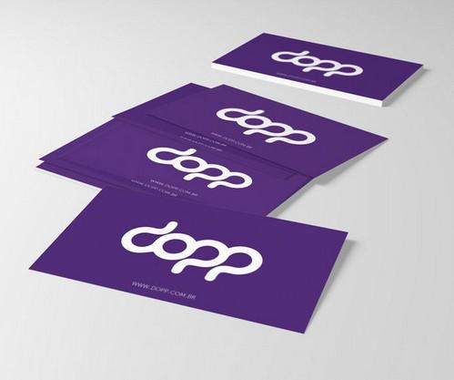 Busines Card Mock-Up PSD Free