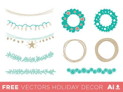 Holidays Vectors Decor