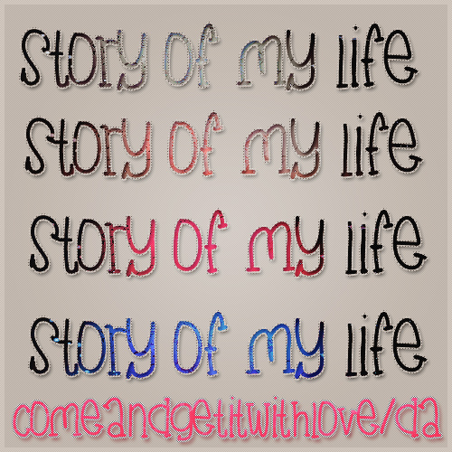 Story of My Life Styles
