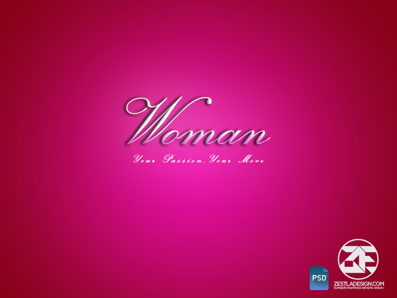 Woman PSD Layer Style Effect