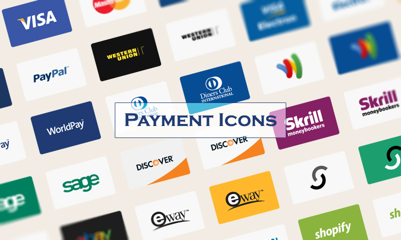 Payment Method Vector Icons