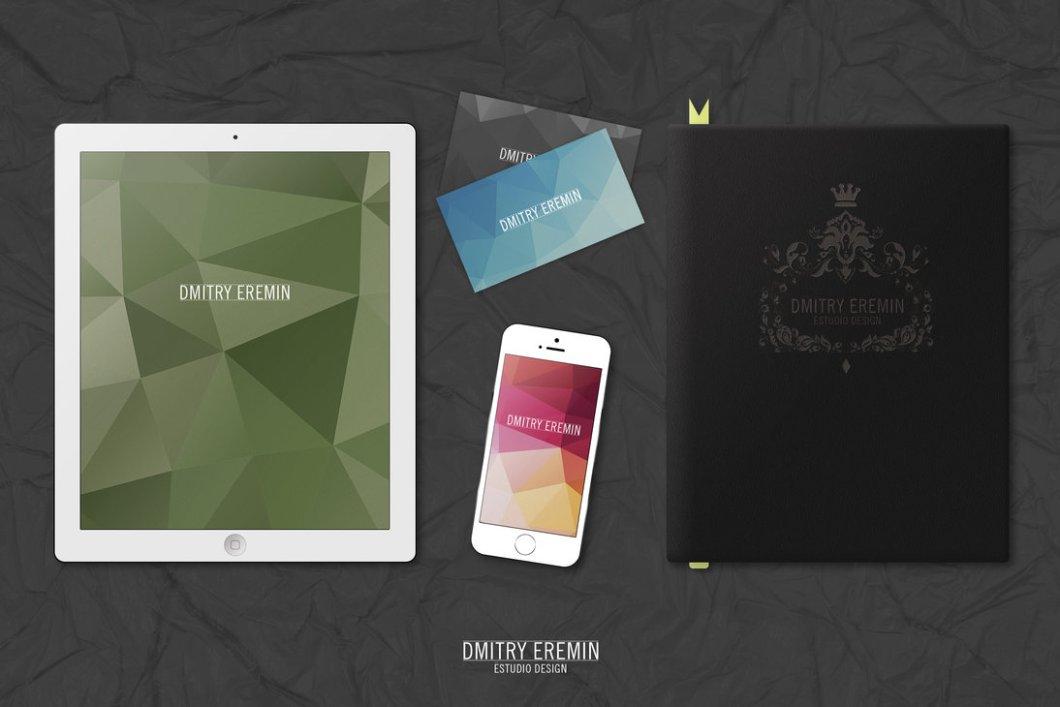 MockUp Ipad Iphone Book Businesscard