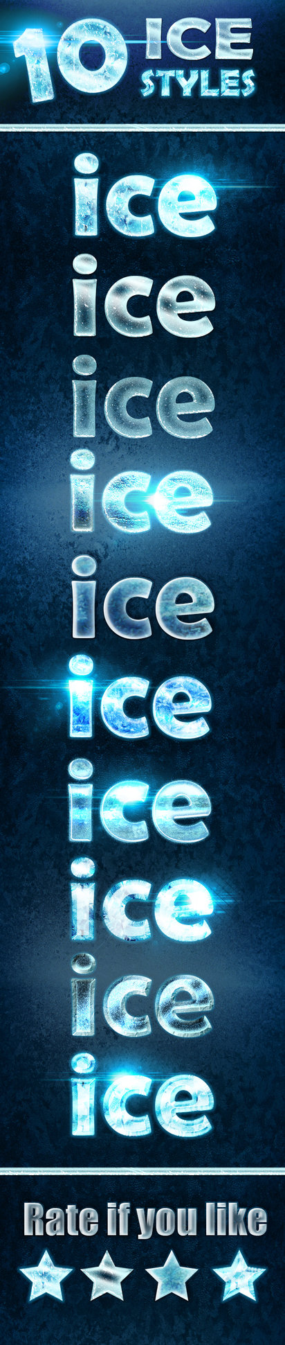 10 Ice and Frozen Effects