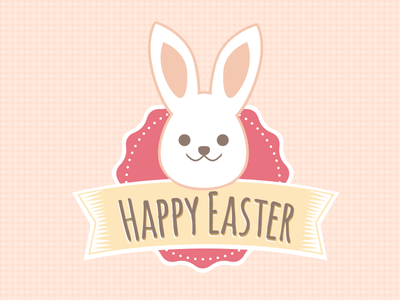 Cutest Easter Bunny Badge