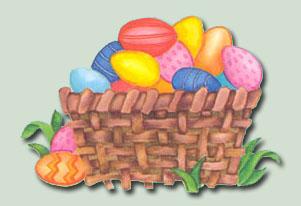 Easter Basket PSD