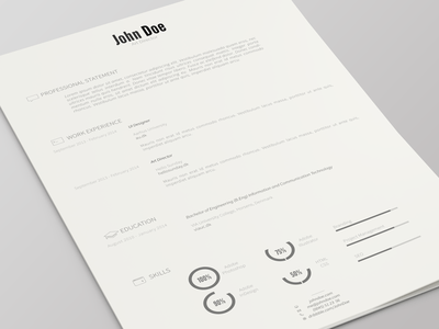 Resume Template Version 2