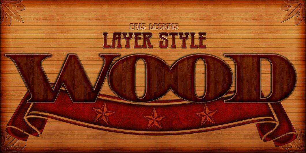 Wood Styles PSD
