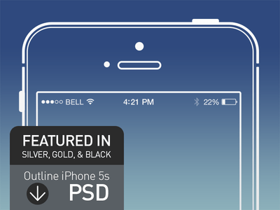 iPhone 5s Free Mock Up