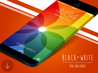 Wide iPhone Mockup