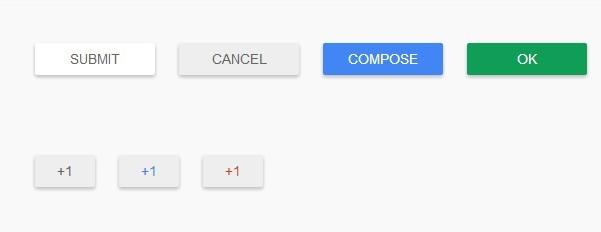 Google Material Design Button UI