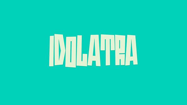 Idolatra Free Font