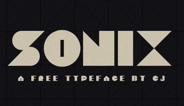 SONIX Font