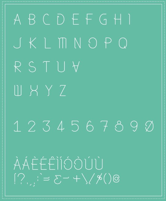TYPE DESIGN - Regina Free Font