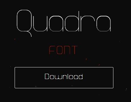 Quadra Font