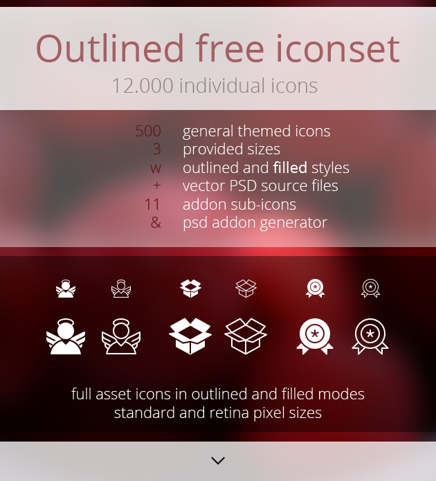 12000 Free Outline Icons