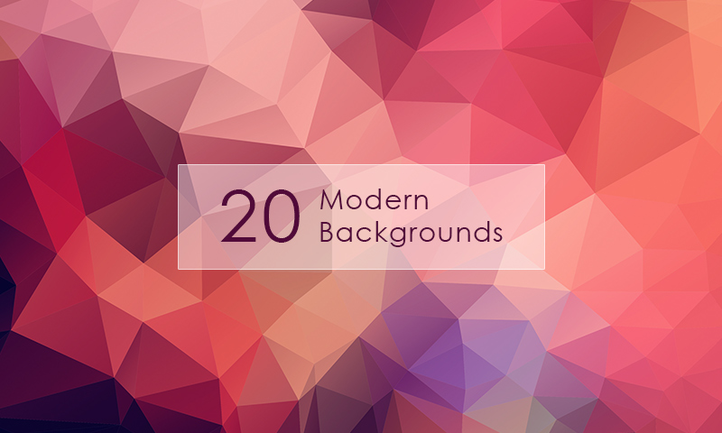 20 Hi-Res Modern Backgrounds