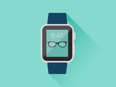 Apple Watch Flat