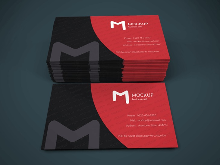 Business Card Mockup Vol.1