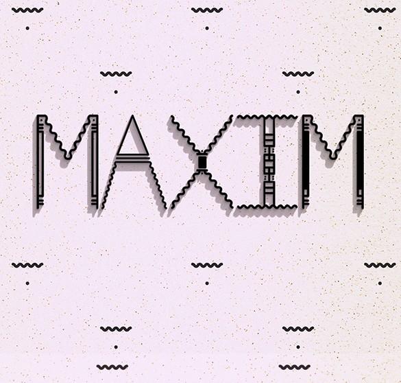 Maxim Typeface