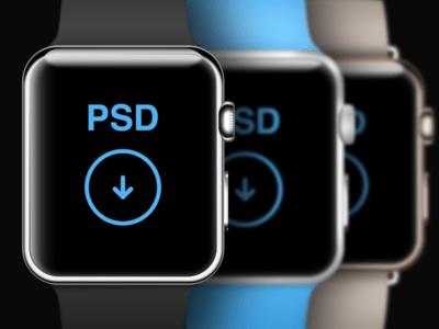 New Watch PSD Template