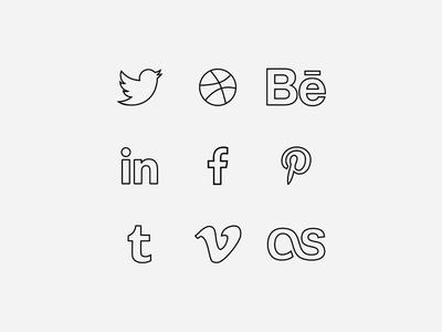 Free Line Icons EP