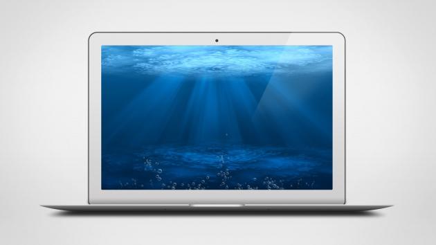 MacBook Air PSD Mock-Up Template Vol. 1