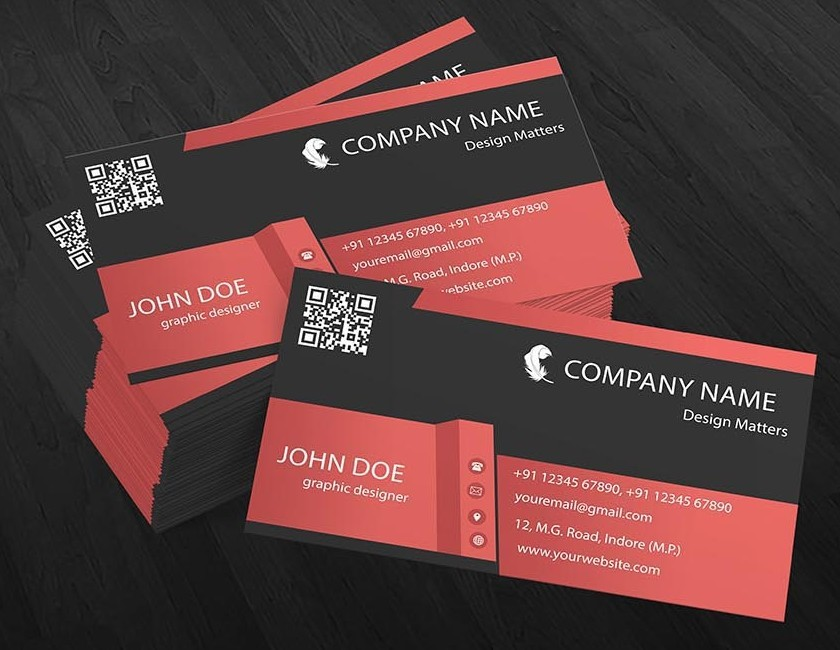100+ Best Business Card Mock-ups For Free Download (2018 Edition ...